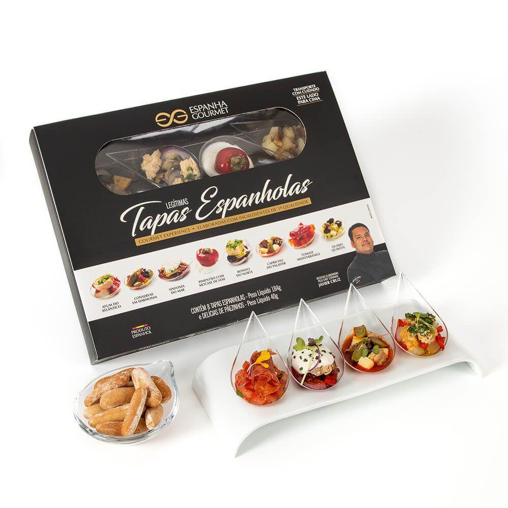 produtos gourmet delicatessen espanha experience kit tapas