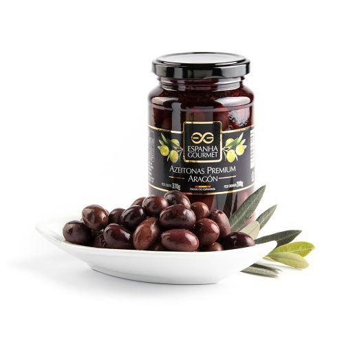 produtos gourmet delicatessen espanha azeitonas premium aragon prato