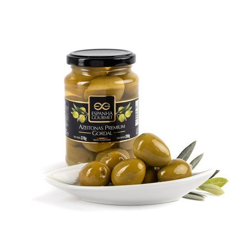 produtos gourmet delicatessen espanha azeitonas premium gordal prato