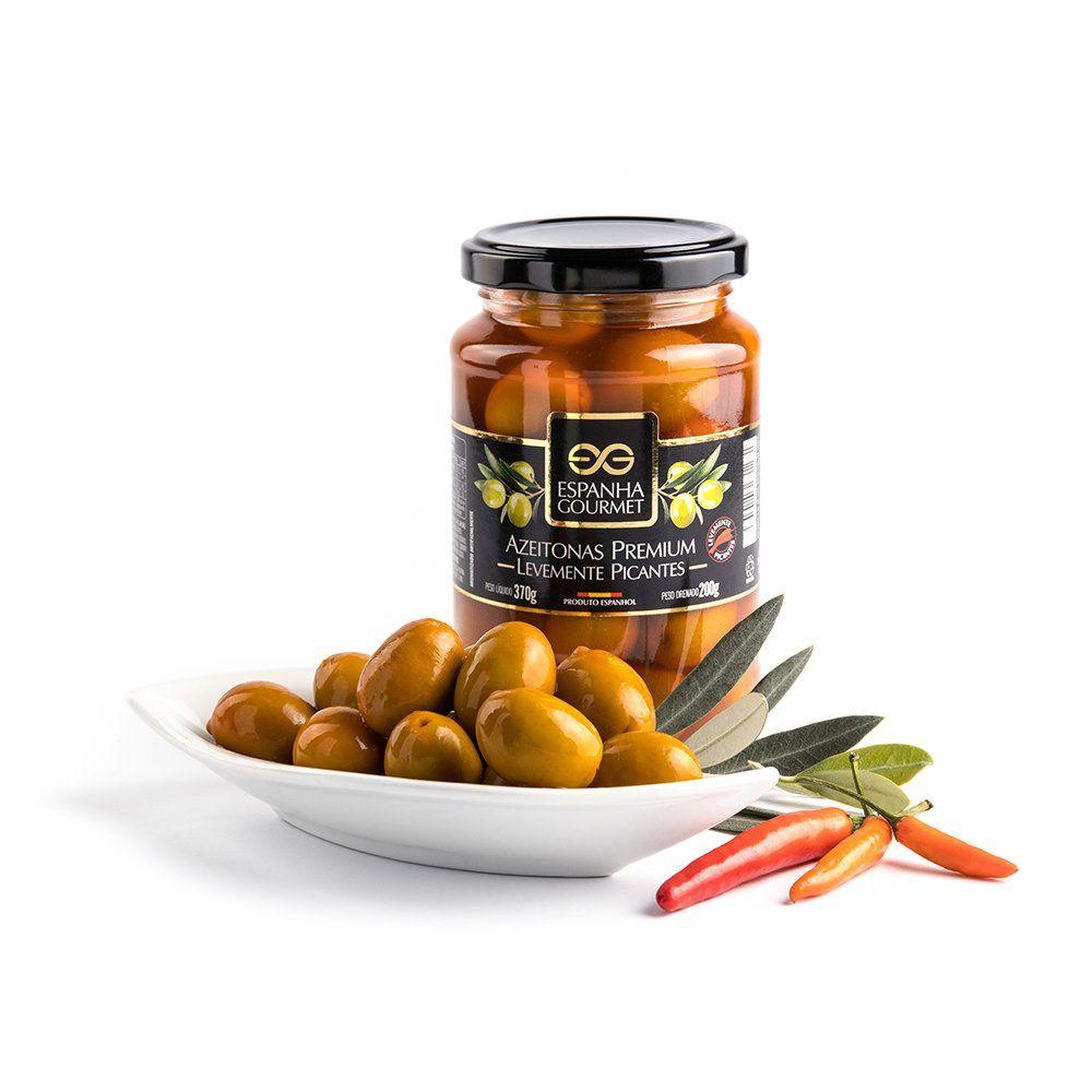 produtos gourmet delicatessen espanha azeitonas premium picantes prato