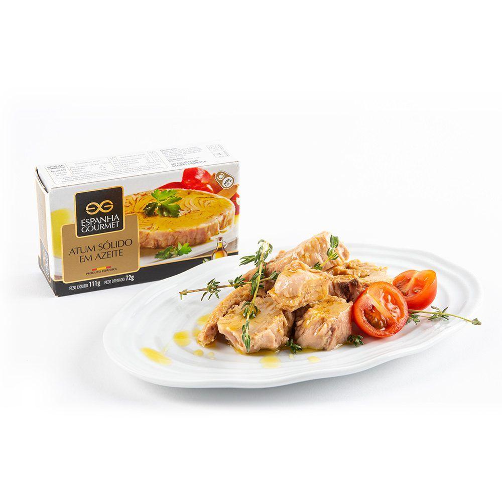 produtos gourmet delicatessen espanha azeitonas conservas pescado atum solido azeite prato