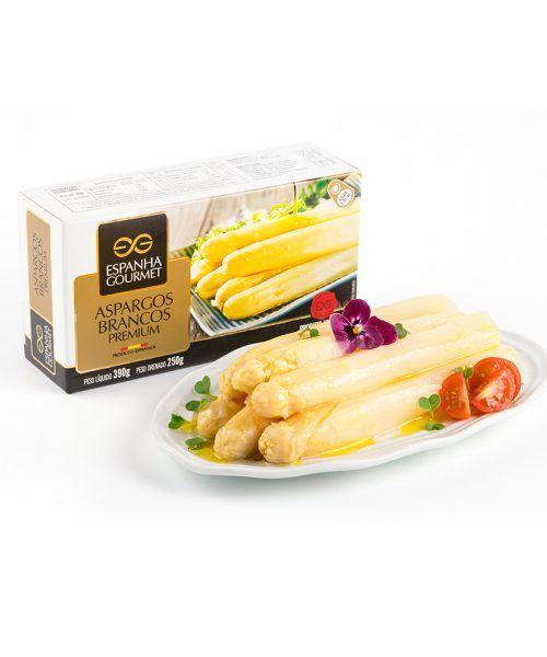 produtos gourmet delicatessen espanha azeitonas conservas vegetais aspargos brancos prato