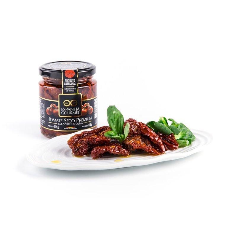 produtos gourmet delicatessen espanha azeitonas conservas vegetais tomate seco premium prato