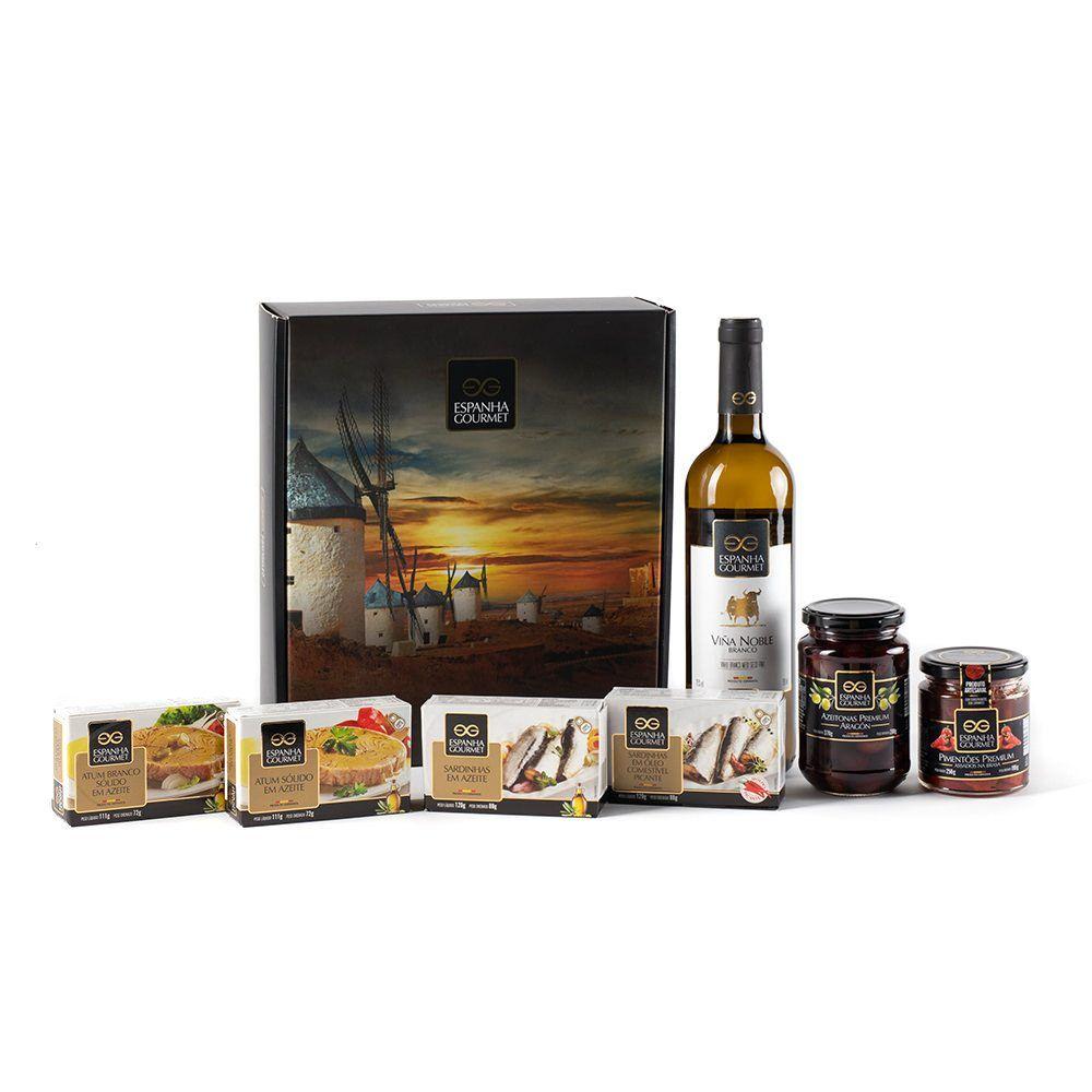 produtos gourmet delicatessen espanha kits presente variado
