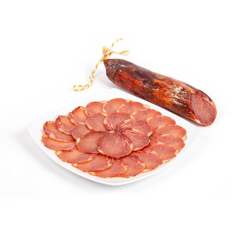 produtos gourmet delicatessen espanha presuntos embutidos lombo iberico prato pieza