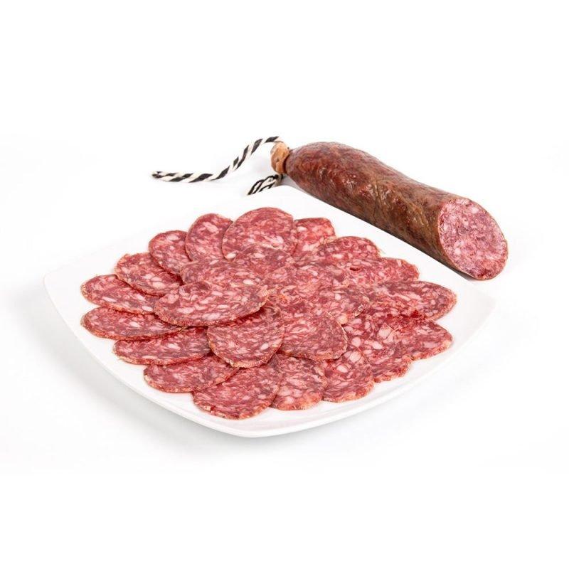 produtos gourmet delicatessen espanha presuntos embutidos salame iberico prato pieza