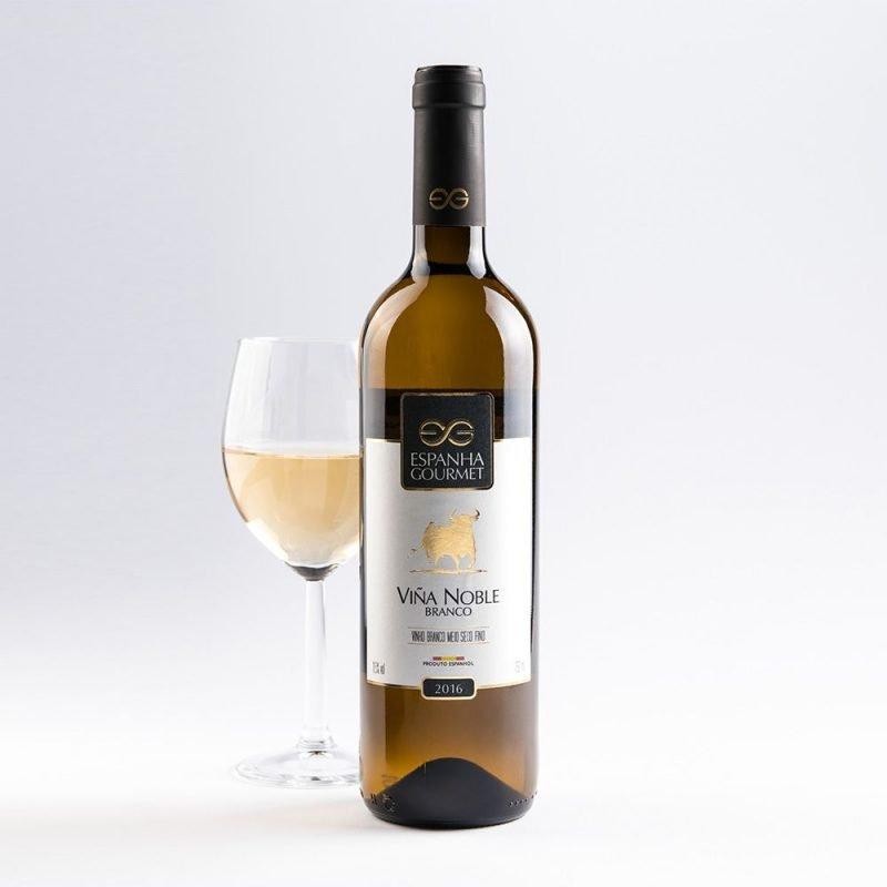 produtos gourmet delicatessen espanha vinhos viña noble branco copa