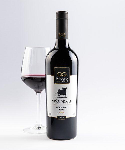 produtos gourmet delicatessen espanha vinhos viña noble monastrell sirah copa