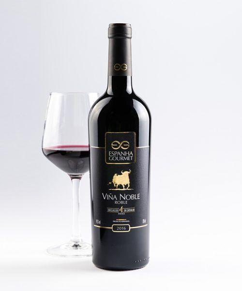 produtos gourmet delicatessen espanha vinhos viña noble roble copa